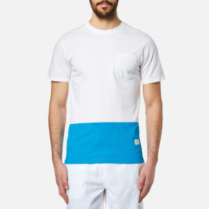 Penfield Men's Sanders Colour Block T-Shirt - White