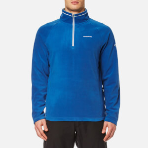 Craghoppers Men's Selby Half Zip Jacket - Deep Blue