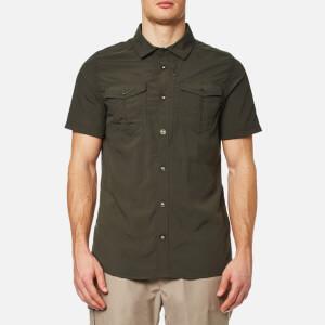 Craghoppers Men's NosiLife Adventure Short Sleeve Shirt - Dark Khaki