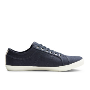 Jack & Jones Men's Ross Pre Canvas Trainers - Navy Blazer