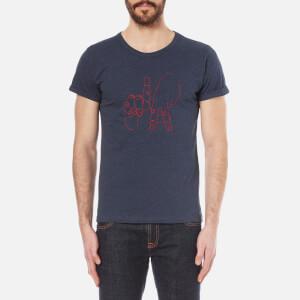 Maison Labiche Men's LA T-Shirt - Marine