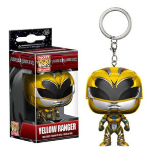 Power Rangers Movie Yellow Ranger Pocket Pop! Key Chain
