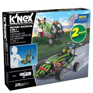 K'NEX Revvin' Racecar 2-in-1 Building Set (16005)