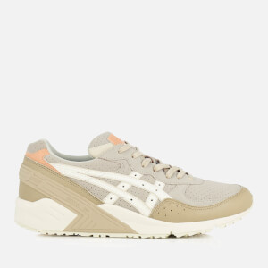 Asics Men's Gel-Sight Suede Trainers - Birch/Cream