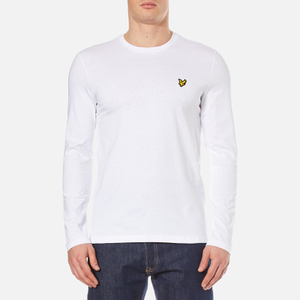 Lyle & Scott Men's Long Sleeve T-Shirt - White