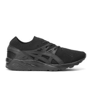 Asics Men's Gel-Kayano Knit Trainers - Black/Black