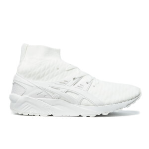 Asics Men's Gel-Kayano Knit MT Trainers - White/White