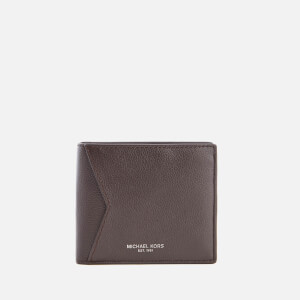 Michael Kors Men's Bryant Billfold Wallet with Coin Pocket - Brown