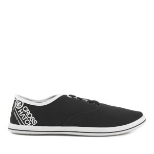 Crosshatch Men's Tsunami Canvas Pumps - Black