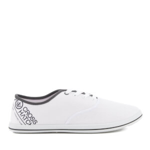 Crosshatch Men's Tsunami Canvas Pumps - White