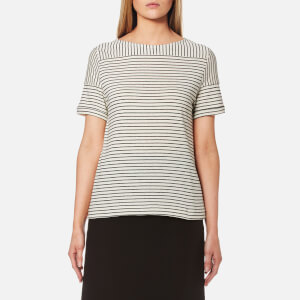 A.P.C. Women's Malia T-Shirt - Black/White