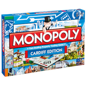 Monopoly Board Game - Cardiff Edition