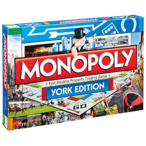 Monopoly Board Game - York Edition from I Want One Of Those
