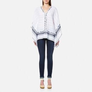 MICHAEL MICHAEL KORS Women's Embellished Poncho - White