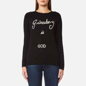 Bella Freud Women's Ginsberg is God Jumper - Black
