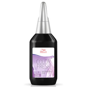 Color Fresh de Wella rubio ceniza perla claro 10/81 75 ml