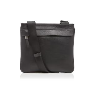 Michael Kors Men's Mid Flat Cross Body Bag - Black