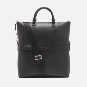 Michael Kors Men's Fold Over Tote Bag - Black