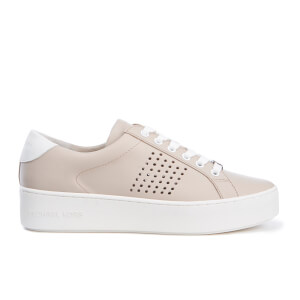 MICHAEL MICHAEL KORS Women's Poppy Lace Up Trainers - Cement