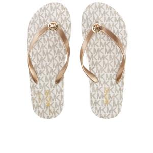 MICHAEL MICHAEL KORS Women's MK Flip Flops - Vanilla