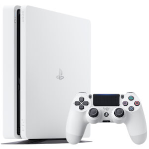 Sony PlayStation 4 Slim 500GB Console - Glacier White