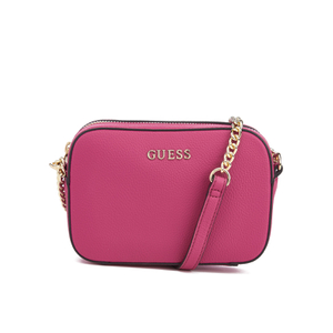 Guess Women's Isabeau Mini Cross Body Top Zip Bag - Pink