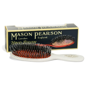 Mason Pearson Handy Bristle and Nylon Brush - BN3 - Ivory
