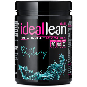 IdealLean Pre-Workout - Blue Raspberry