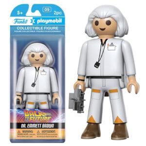 Figura Funko x Playmobil Doc - Regreso al futuro