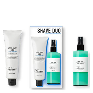 Baxter of California Shave Duo Set: After Shave Balm and Shave Tonic 120ml