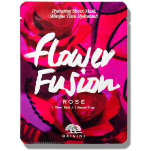 Origins Flower Fusion™ Hydrating Sheet Mask – Rose