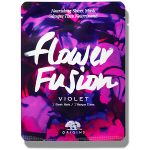 Origins Flower Fusion™ Hydrating Sheet Mask – Violet