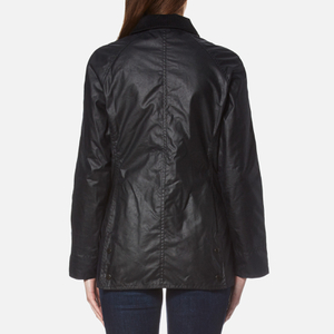 Barbour Women's Beadnell Wax Jacket - Navy: Image 2