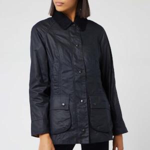 Barbour Women's Beadnell Wax Jacket - Navy