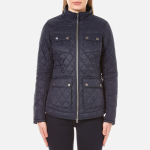 Barbour Women's Dolostone Quilt Jacket - Dark Navy