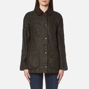Barbour Women's Classic Beadnell Wax Jacket - Olive