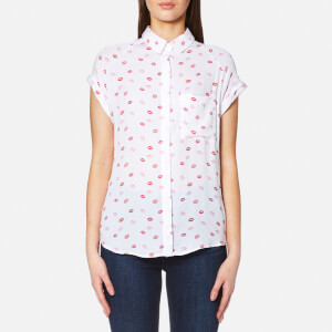 Rails Women's Chase Lips Shirt - Kiss Me