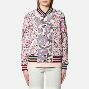 Coach Women's Reversible Satin Varsity Jacket - Shell Multi