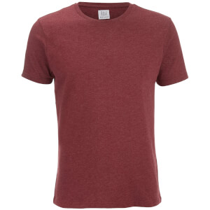 Smith & Jones Men's Purlin 2 Pack T-Shirt - Charcoal/Burgundy: Image 2