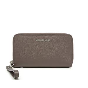 MICHAEL MICHAEL KORS Women's Large Flat Phone Case Wristlet - Cinder