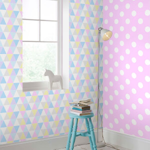 Superfresco Easy Kids' Harlequin Pastels Clouds Wallpaper