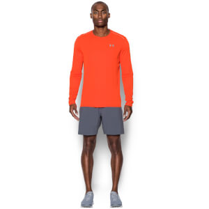 Under Armour Men's CoolSwitch Run Long Sleeve Top - Phoenix Fire