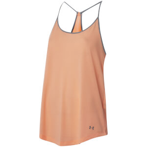 Under Armour Women's Threadborne Train Strappy Tank Top - Playful Peach