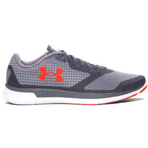 Under Armour Men's Charged Lightning Training Shoes - Rhino Grey/Phoenix Fire
