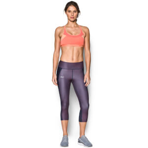 Under Armour Women's Breathe Sports Bra - London Orange