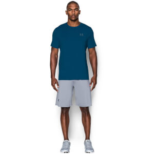 Under Armour Men's Sport Style Left Chest Logo T-Shirt - Blackout Navy/Steel