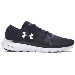 Under Armour Men's SpeedForm Fortis 2.1 Running Shoes - Black/Glacier Grey