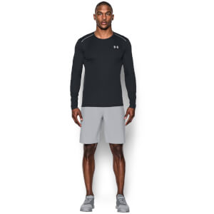 Under Armour Men's CoolSwitch Run Long Sleeve Top - Black