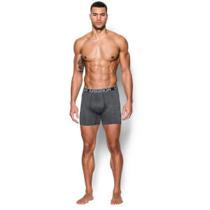 "Under Armour Men's Original 6"""" Twist Boxerjock - Steel"