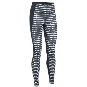 Under Armour Women's Mirror Hi-Rise Printed Studio Tights - Black